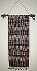 Philippine T'nalak Bark Cloth Woven Textile Hanging