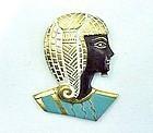 Art Deco German Egyptian Revival Brooch