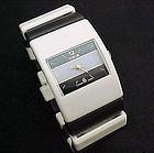 Black and White Bracelet Watch