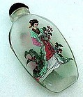 Beautiful Inside Painted Chinese Snuff Bottle