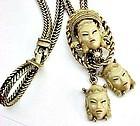 Asian Princess Bolo Necklace