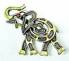 Cute Little Elephant Pin for Good Luck