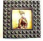 Beautiful Tizo Jeweled Picture Frame - From Italy