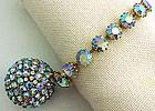 Schiaparelli Bracelet! Really Special Blue R/Stones