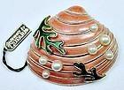 Trifari Oyster Shell Brooch with Original Tag