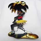 Pavone Josephine Baker Brooch - Galalith