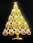 A Christmas Tree Pin wih Ornaments