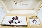 Stratton Cigarette Case and Lighter - Gift Box
