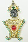 Kenneth Lane Blackamoor Brooch - Early Lane Piece