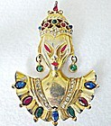 Reinad Asian Princess with Ruby Red & Clear Rhinestones
