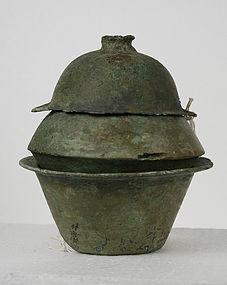 Han Dynasty Bronze Cooking Set Arthur M Sackler