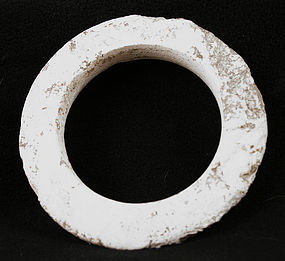 Ancient SE Asian Calcite Bangle Herrington Collection