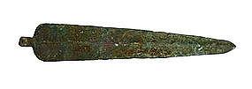 Near Eastern Bronze Dagger or Spear blade