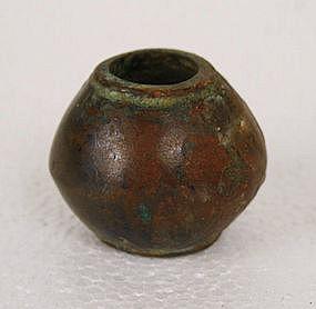 Ancient Copper Mace Head