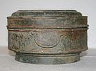 Khmer Culture Bronze Boiler