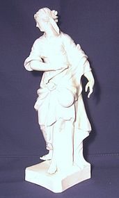 KPM/Meissen Style Figure of Blindfolded Justice