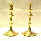 Georgian Brass Candlesticks