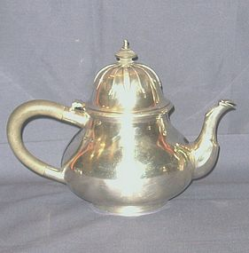 Sterling Silver Teapot James Robinson