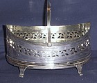 Georgian Sterling Sweet Meat Basket,; Peter Bateman