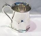 Coin silver Mug, Francis W. Cooper NY 1850