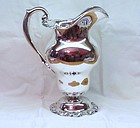 Stately Mauser Sterling Silver Water Pitcher