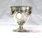 Georgian Scottish Silver Sugar Bowl