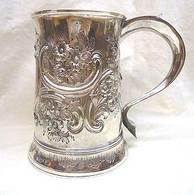 Hester Bateman Georgian Silver Mug