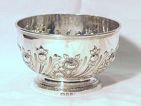 Georgian Silver Bowl; 1797