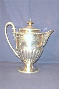 Large Georgian Silver Tea Pot Bateman Family