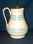Victorian Milk or Syrup Jug ; Greek Key Pattern