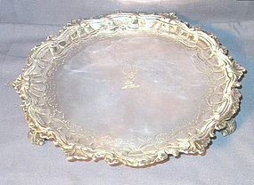 George II Silver Salver 1746