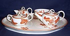 Wedgwood Creamware Tea Set with Tray