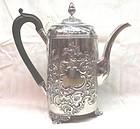 Georgian Silver Coffee Pot John Emes 1805