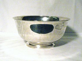 Crichton Brothers Sterling Revere Bowl