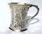 Early American Coin Silver Child's Mug; Gale & Hayden