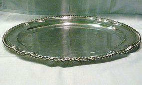 Fine George I Sterling Silver Meat Platter