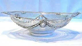 Victorian Silver Bread Basket