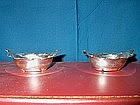 Sterling Silver Nut Dishes