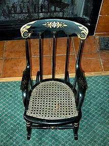Child's or Doll's Victorian Rocker