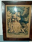 Kellogg & Thayer Hand Colored Lithograph