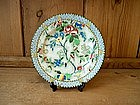 "Chintz plate; Royal Coronaware, ""Rosetta"""