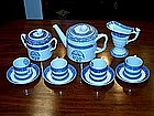 "Spode Blue ""Heritage"" Tea Set"