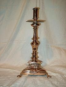 Spanish Colonial Brass Candlestick