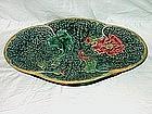 Green Majolica Platter