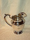 Wm. Durgin Hand Hammered Sterling Pitcher