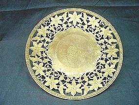 Tiffany Sterling Silver Cake Plate