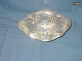 Gorham Sterling BonBon Dish; 1907