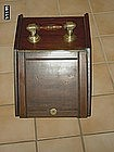 Mahogany and Brass Coal Bin or Scuttle