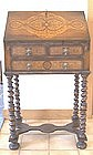 William and Mary Style Marquetry Bureau or Desk