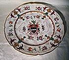 Samson Armorial Plate; Weld Family